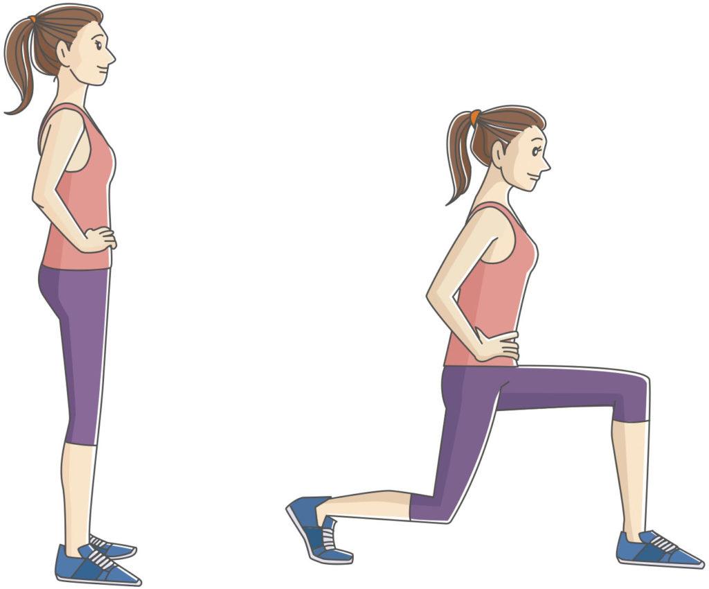 太ももの運動